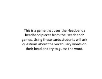 Headbandz Game States Of Matter