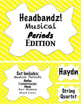 Headbandz!- Musical Periods Edition