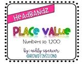Headbandz - Place Value - Numbers to 1,200