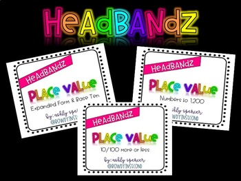 Headbandz - Place Value Set