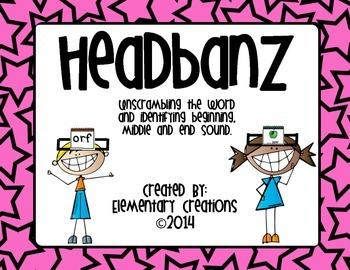 Headbanz unscramble the word and more!
