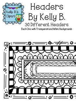Header Borders By Kelly B.