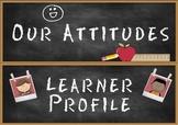 Headers for IB PYP Classroom Attitudes Set & Learner Profile Set A4 version