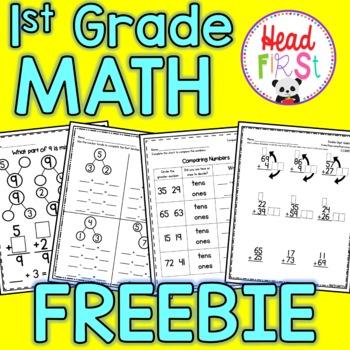 Headfirst 1st Grade Math Curriculum Sample Pack
