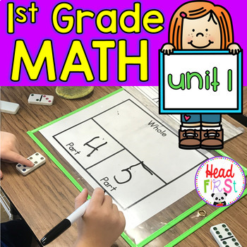 Everything 4 Number Bonds Addition Subtraction 1st Grade Math Unit 1