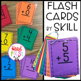 Addition and Subtraction Flashcards Organized for Math Fact Fluency