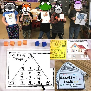 Headfirst 1st Grade Math Curriculum Unit 2 Addition and Subtraction First Grade