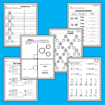 Headfirst 1st Grade Math Curriculum Unit 3 Addition and Subtraction First Grade