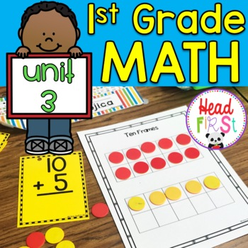 #3 1st Grade Math Curriculum Addition/Subtraction~Worksheets, Centers, Homework