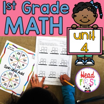 Headfirst 1st Grade Math Curriculum Unit 4 Addition and Subtraction First Grade