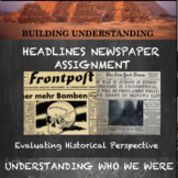 Headlines Newspaper Assignment--Teaching Historical Perspective