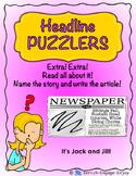 Headlines Puzzlers