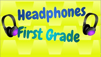 Headphone Labels for K-5