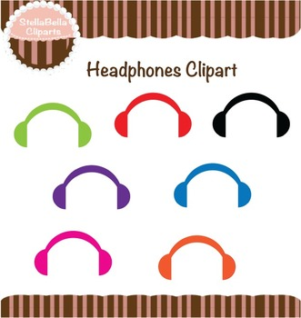 Headphones Clipart - Dress Up Your Clip arts