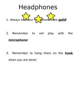 Headphones Rules