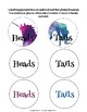 Heads Or Tails Math Game- Addition/Subtraction