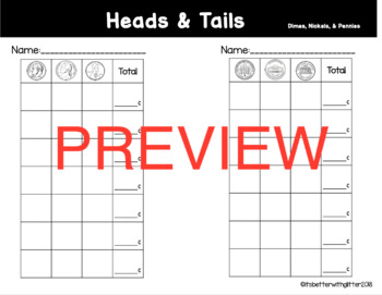 Heads & Tails (A Mixed Coin Counting Game)