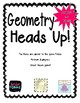 Heads Up! Geometry Vocabulary Game