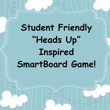 Heads Up Inspired Language Skill Game