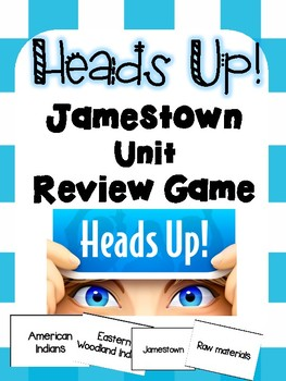 Heads Up! Jamestown Unit Review Game