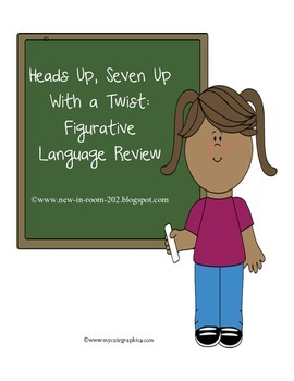 Heads Up, Seven Up with a Twist: Figurative Language Review