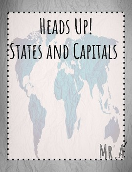 Heads Up!  States and Capitals