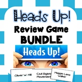 Heads Up! VA History Review Game BUNDLE