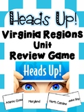 Heads Up! Virginia Regions Unit Review Game