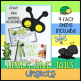 Heads and Tails Insect - Book Week Craftivity (Craft and Fact Sheets)