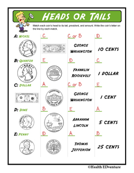 Learning About Money:  Heads or Tails