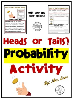 Heads or Tails? Probability Activity