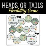 PE Flexibility Board Game | Heads or Tails Yoga Training |