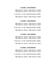 Heads, shoulders, knees and toes lyrics - French