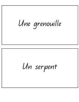 Heads up - En Francais - French Vocab