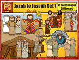 Jacob to Joseph: Bible Series Set 1 by Charlotte's Clips