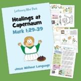 Healings at Capernaum  - Mark 1 - Kidmin Lesson & Bible Crafts