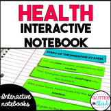 Health and wellness Interactive Notebook