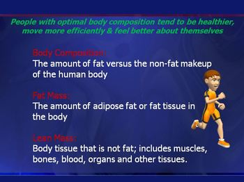 Body Composition- PowerPoint Presentation
