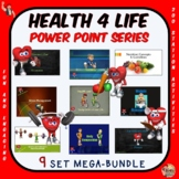Fitness and Health Bundled Power Pack- 9 PowerPoint Presentations