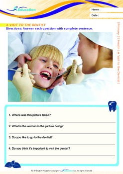 Health - A Visit to the Dentist - Grade 2