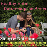 Healthy Habits for Students: Sleep & Nutrition