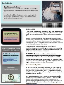 Drugs Molly and Bath Salts: Trends in Health Newsletter Vol. 1- A FREE Report