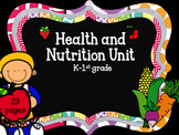 Health And Nutrition: Interactive Science Notebook K-1st Grade
