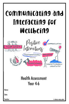Health Assessment Booklet - Communicating and interacting for wellbeing.