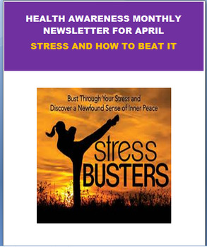 Health Awareness April Newsletter- Stress and how to beat it