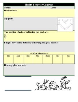 Health Behavior Contract