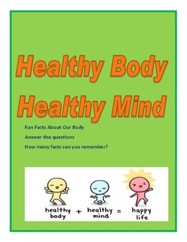 Health Body, Healthy Mind: Fun  Facts for Kids