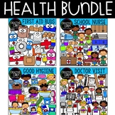 Health Clipart Bundle {Creative Clips Clipart}