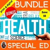 Health Bundle for Special Education High School