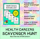 Health Care Careers Scavenger Hunt
